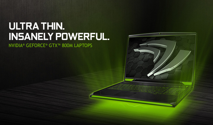 Nvidia GTX 800M Laptop